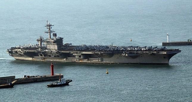 أمريكا توجه حاملة طائرات وأسطولاً حربياً إلى شبه الجزيرة الكورية