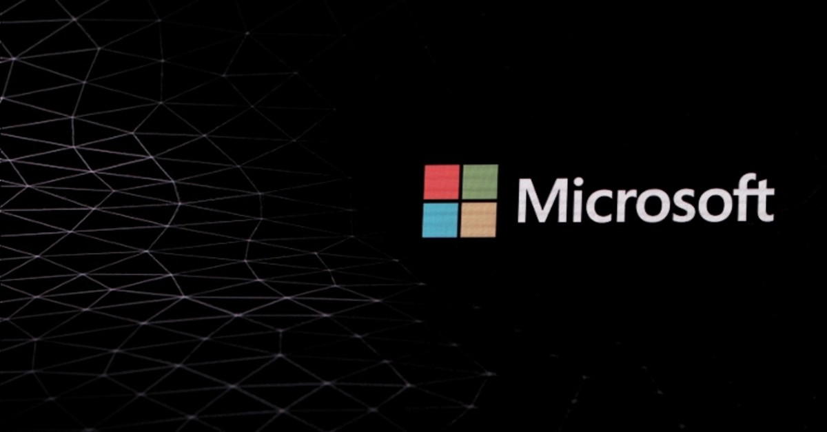 The Microsoft logo is pictured ahead of the Mobile World Congress in Barcelona, Spain February 24, 2019. (REUTERS Photo)