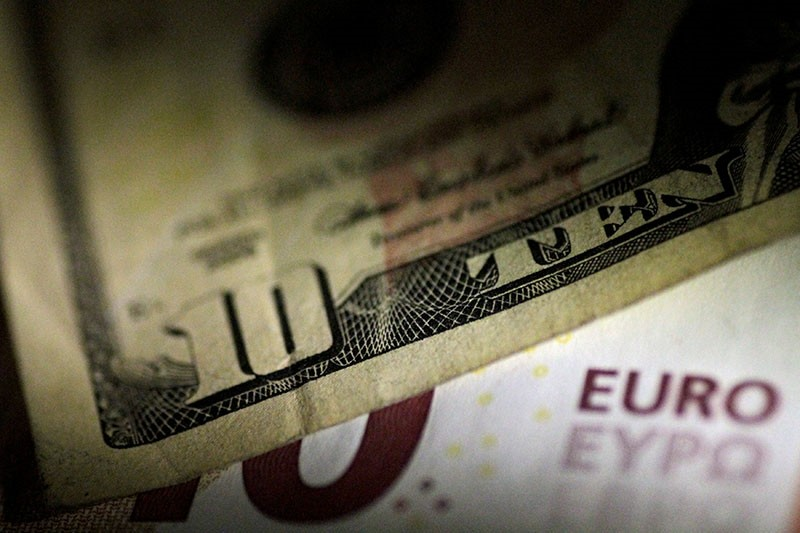 U.S. Dollar and Euro notes are seen in this June 22, 2017 illustration photo. (Reuters Photo)