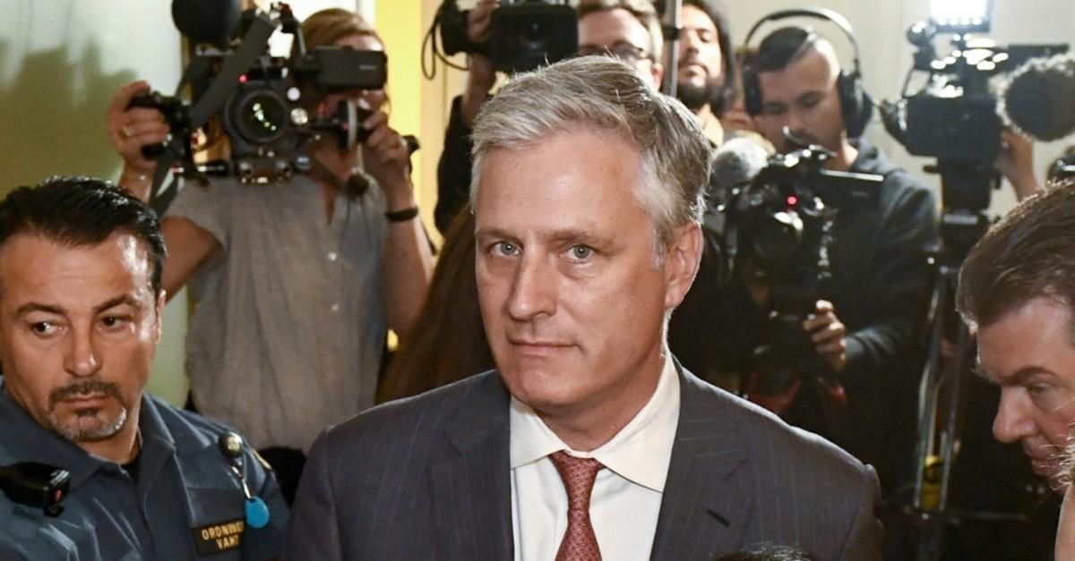 Robert O'Brien, U.S. Special Envoy Ambassador, Stockholm, July 30, 2019.