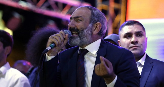 Thousands rally in Armenia on new PM's 100th day