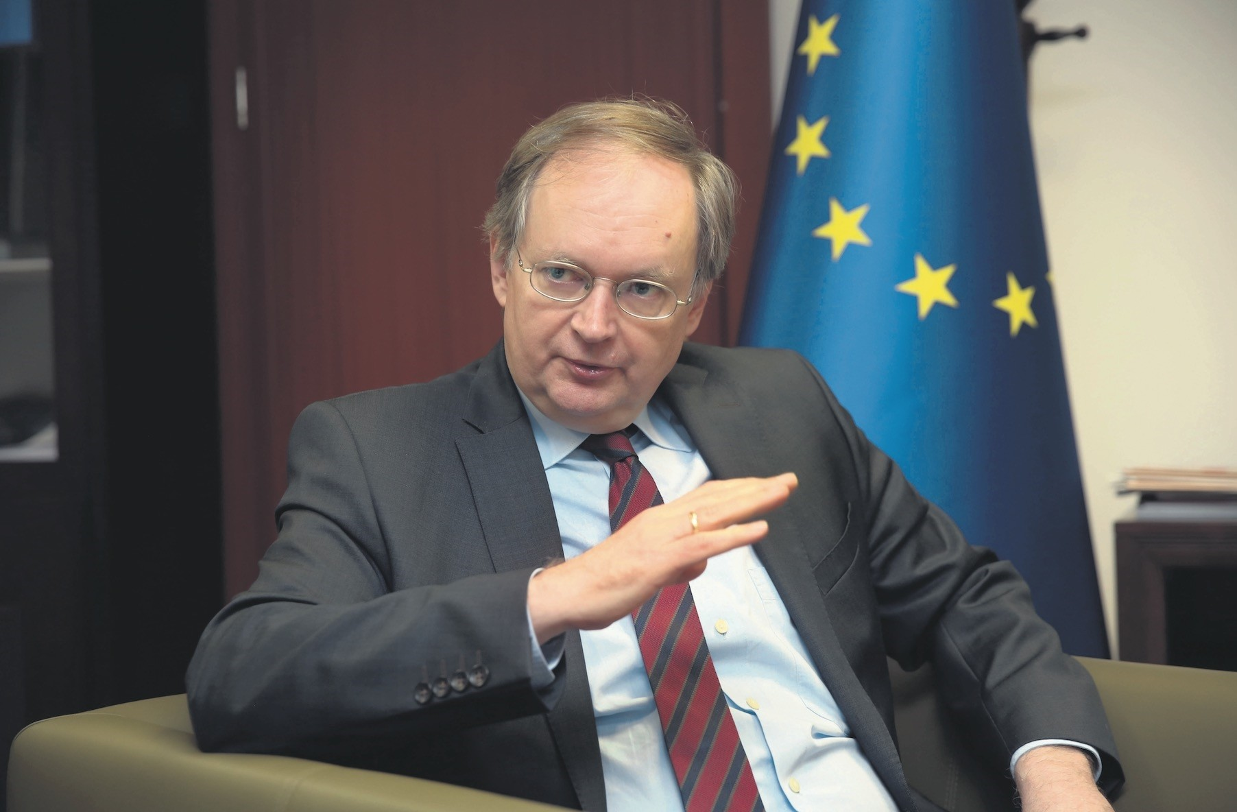 EU-Turkey Delegation Head Berger said the engagement, which began last May is helping to rebuild confidence between Turkey and the EU, which encourages both sides to tackle disagreements.