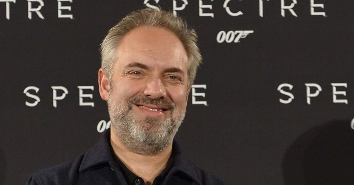 (FILES) In this file photo taken on October 27, 2015 British director Sam Mendes attends a photocall for the new James Bond film 'Spectre' on October 27, 2015 in Rome. - Sam Mendes has been knighted for his contribution to drama in the 2020 New Years Honours list. (Photo by Tiziana FABI / AFP)