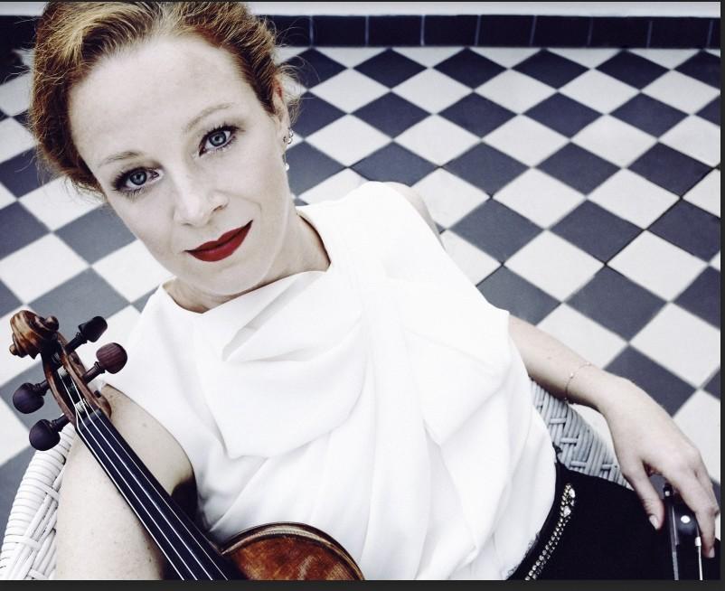 German violinist Carolin Widmann will perform at u0130u015f Sanat on Feb. 27.