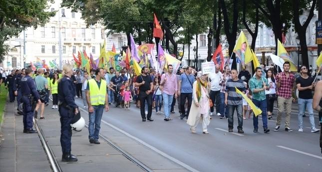 PKK-Demo in Wien