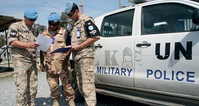 قوات حفظ السلام الأممية في جزيرة قبرص من الأرشيف
