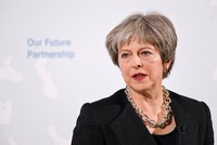 ECJ cannot be ultimate arbiter after Brexit, British PM May says