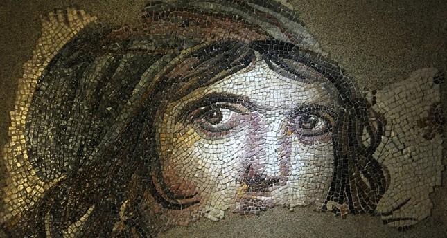The Gypsy Girl mosaic AA Photo