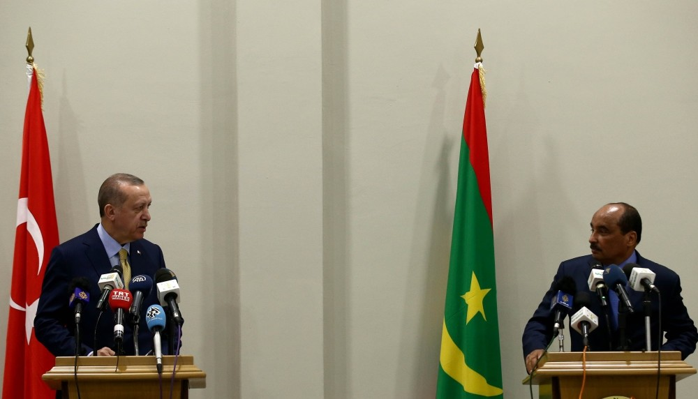 President Erdou011fan thanked Mauritanian President Mohamed Ould Abdel Aziz for solidarity against FETu00d6 during the failed July 15,2016 coup attempt.