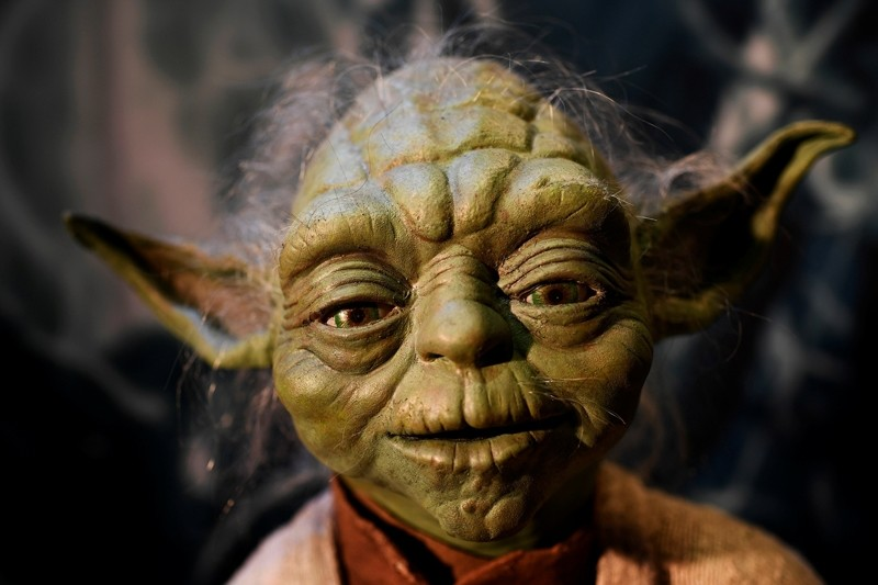 The Yoda puppet used in the original movies, is seen at the Star Wars Identities exhibition at the 02 in London, Britain ( Reuters File Photo)