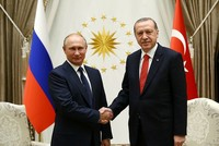 Putin hails normalization of relations, cooperation in New Year's greetings to Erdoğan