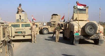 pIraq forces, backed by the U.S.-led coalition, captured the border town of Rawa, the last remaining town under Daesh control, on Friday, the Iraqi military said in a statement./p
