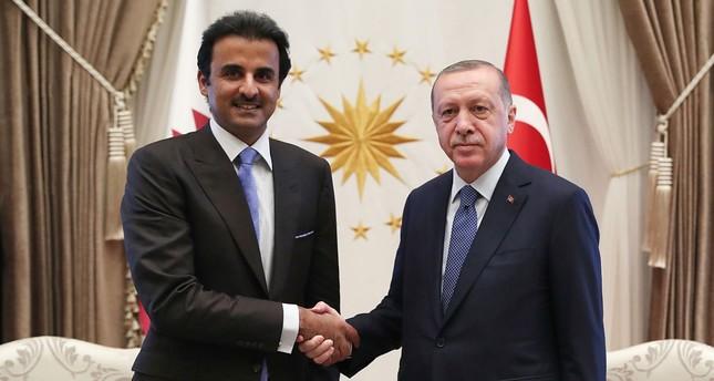 أمير قطر يزور تركيا اليوم