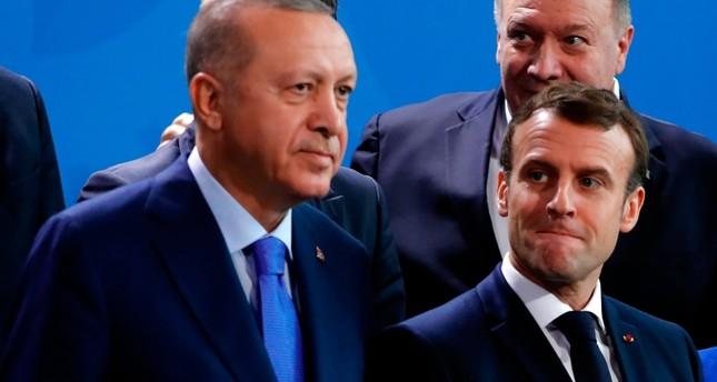 أردوغان يتلقى رسالة من ماكرون يطلب فيها عقد قمة ويدعو لتحسين العلاقات