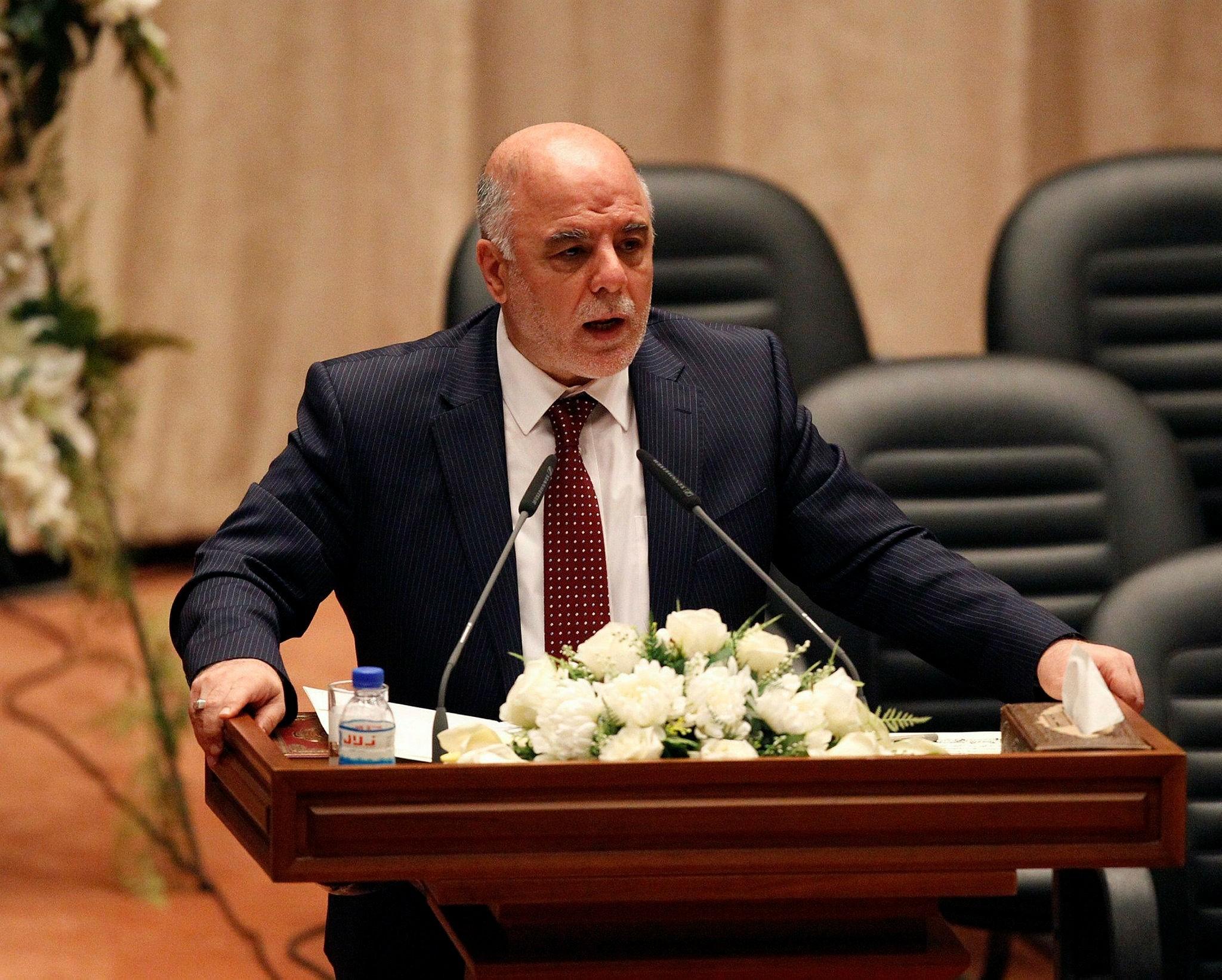 Iraqi PM Abadi (Reuters Photo)
