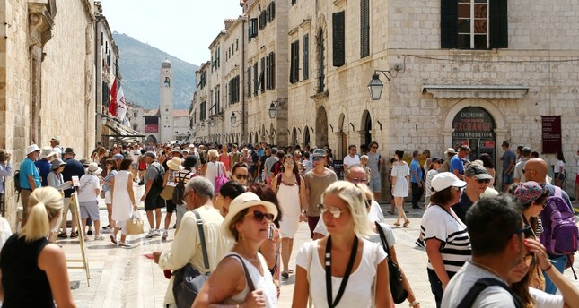 Croatia's Dubrovnik limits tourists from Adriatic cruises to