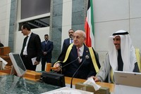 Kuwait's emir Sheikh Sabah Al-Ahmad Al-Jaber Al-Sabah and Speaker of the Kuwaiti National Assembly Marzouq al Ghanim met Sunday with Parliament Speaker Ismail Kahraman, according to the official...