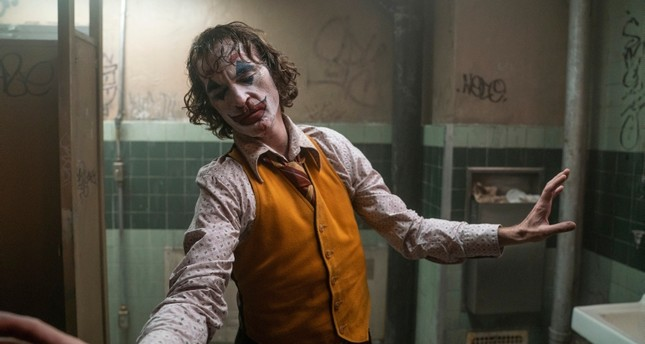 This image released by Warner Bros. Pictures shows Joaquin Phoenix in a scene from Joker. On Monday, Jan. 13, the film was nominated for an Oscar for best picture.