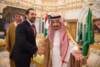Saudi king, Lebanon PM Hariri hold talks in Riyadh on first visit since shock resignation