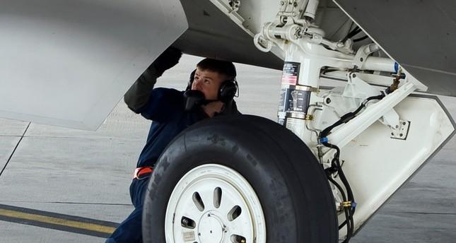 العثور على جثة في علبة العجلات الخلفية لطائرة سعودية آتية من نيجيريا