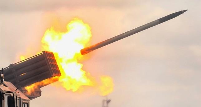 تركيا تكشف النقاب عن قذيفة صاروخية محلية تعتزم استخدامها في غصن الزيتون