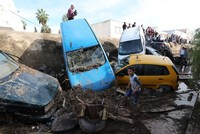 Flash floods in Tunisia leave five dead, two missing