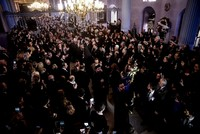 Day of farewell for late Armenian patriarch