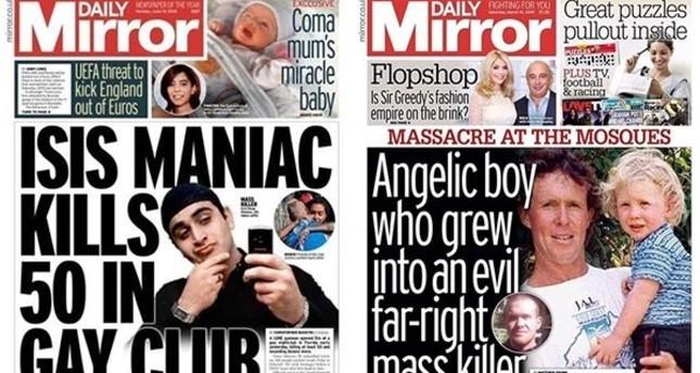 ديلي ميرور البريطاني تواجه انتقادات حادة لتبييضها صفحة إرهابي نيوزلاندا