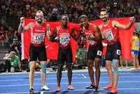 Turkish national team wins silver in men's 4x100m at the European Athletics Championships