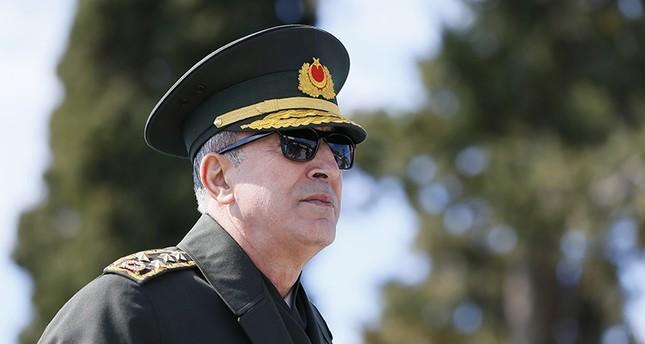 رئيس الأركان التركي الفريق أول خلوصي أقار