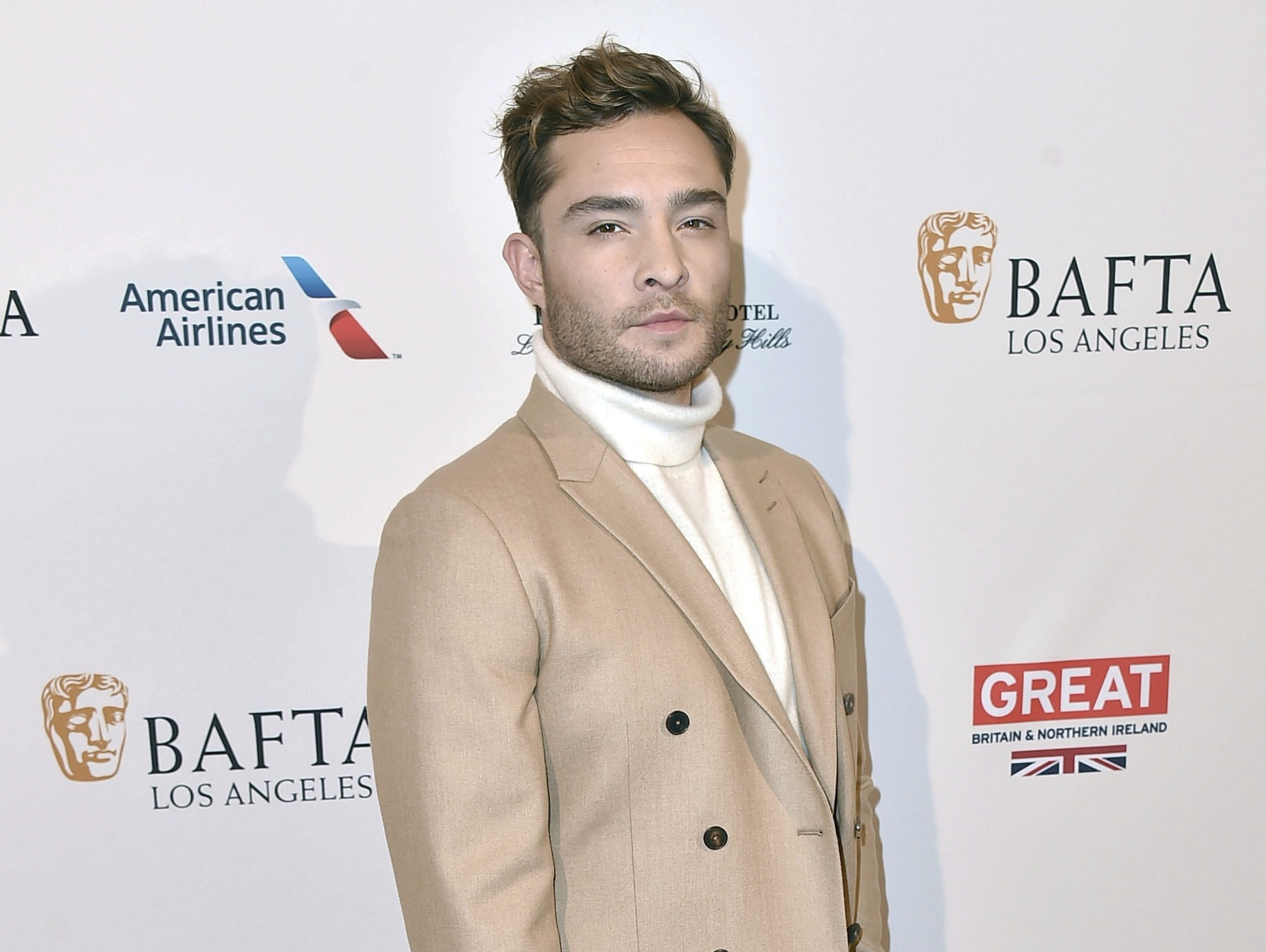 In this Jan. 9, 2016 file photo, Ed Westwick arrives at the BAFTA Awards Season Tea Party at the Four Seasons Hotel in Los Angeles. (AP Photo)