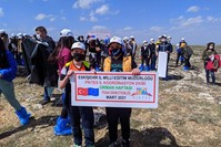 من نشاطات مشروع دعم اندماج الأطفال السوريين بنظام التعليم التركي IHA