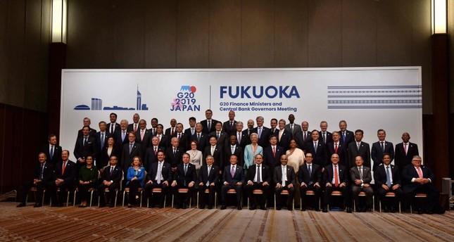 وزراء مجموعة العشرين يعلنون استعدادهم للتعامل مع التوترات التجارية