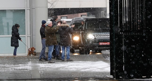 Британские дипломаты покинули посольство