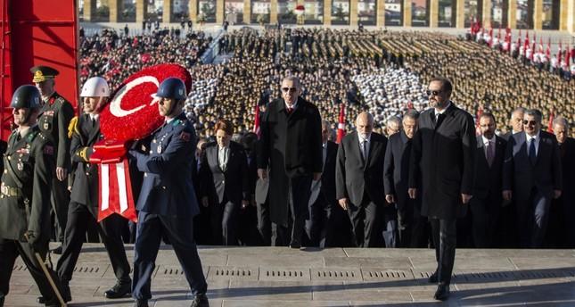 بمشاركة أردوغان.. مراسم رسمية إحياء لذكرى وفاة أتاتورك
