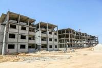 |Bau eines Krankenhauses in Gaza. (Archivbild)