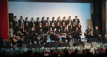 The Olive Branch Choir, which was founded under the District Governorate of Altınözü and the Public Education Center in Hatay province, and includes 40 people from three monotheistic religions as...