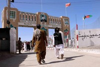 Pakistani authorities reopened the main Chaman border crossing at Afghanistan's request after shutting it down earlier this month when the two sides traded fire there, killing 15 people on both...