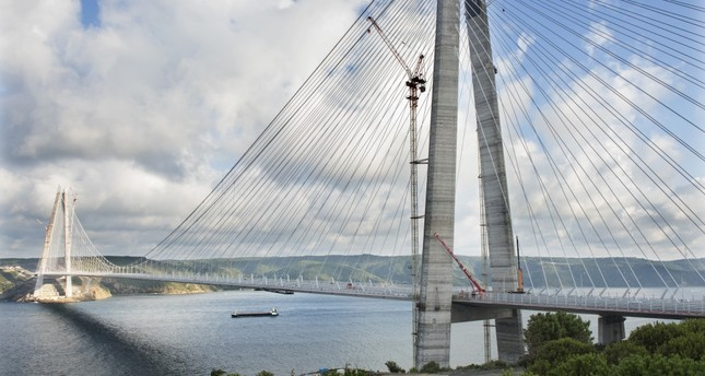 Istanbul's third bridge over the Bosporus to open Friday