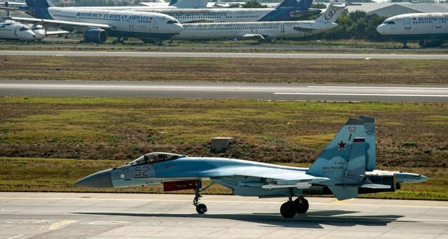 Talks between Ankara, Moscow on Su-35 fighter jet in 'advanced stage'