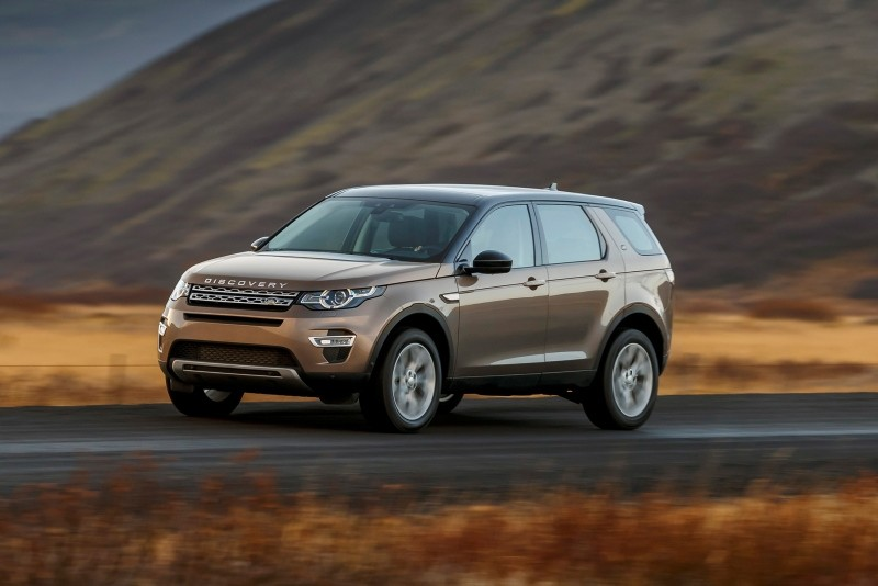 This photo provided by Jaguar Land Rover shows the 2018 Land Rover Discovery Sport, which is Land Rover's least expensive SUV, but which maintains the brand's reputation for enhanced off-road abilities. (AP Photo)