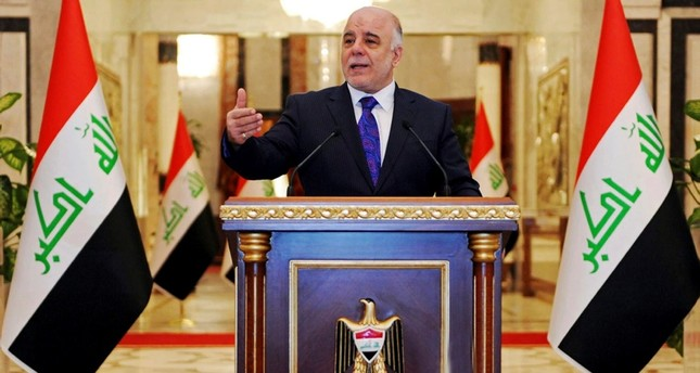 Iraqi premier-designate Haider al-Abadi speaks at his first press conference since accepting the nomination to be Iraqís next prime minister, in Baghdad, Iraq, Monday, Aug. 25, 2014. (AP Photo)