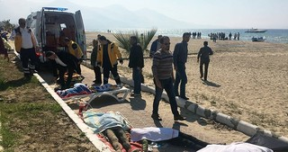 Boat carrying 22 refugees capsizes off Turkey's Aydın