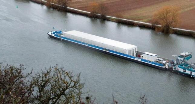 Schiff für neuen Atommüll-Transport unterwegs