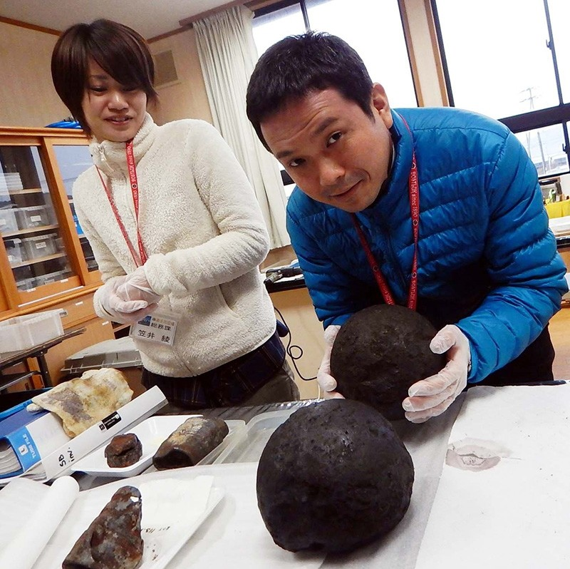 World's oldest artillery shells discovered in Ertuğrul Frigate excavation off Japan coast