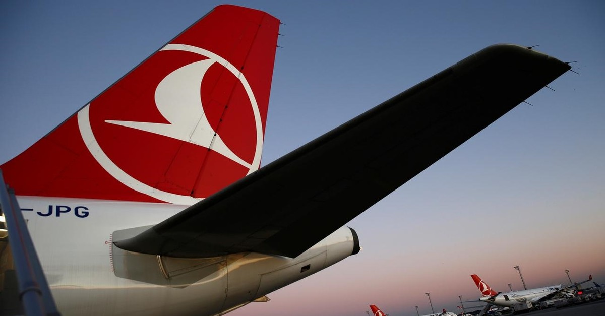 Turkish Airlines (THY) aircraft are seen parked at Atatu00fcrk International Airport in Istanbul, December 8, 2017. (Reuters Photo)
