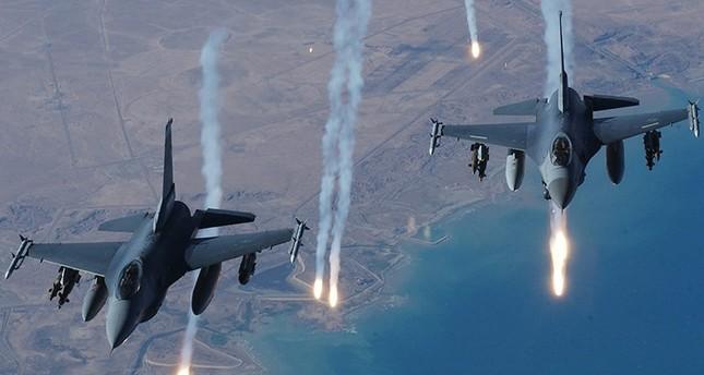 PKK terrorist positions in n. Iraq targeted in strikes
