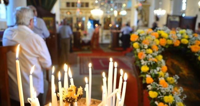 Services for Virgin Mary held at Gökçeada