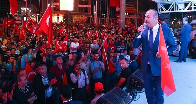 وزير الخارجية التركي: خطر المحاولة الانقلابية مازال قائماً