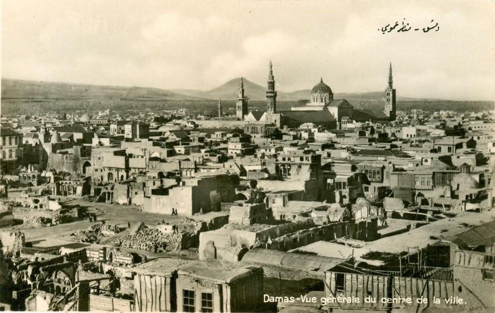 City of Damascus, Syria during World War I.